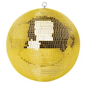 gold mirror ball from Cybermarket