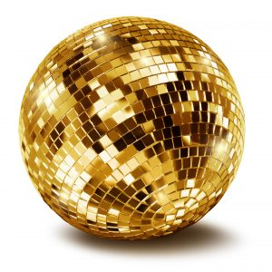 Gold Mirror Ball Range