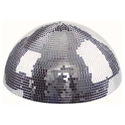 Half mirror disco ball