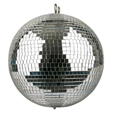 30cm diameter mirror ball with 10mm facets for the perfect disco