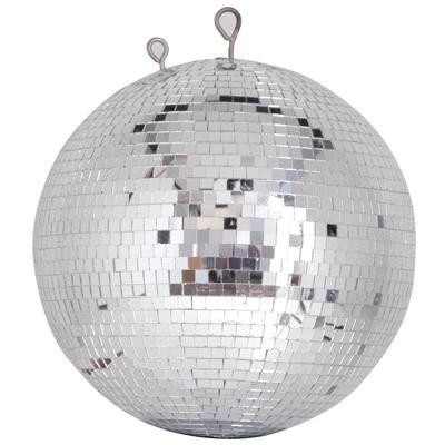 30cm reflective glass mirror ball with 7mm x 7mm facets