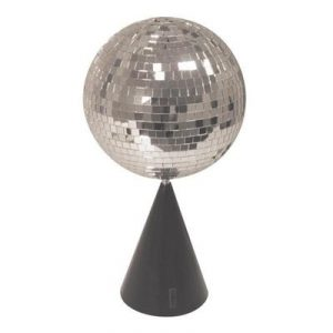 Free standing rotating mirror ball and motor kit