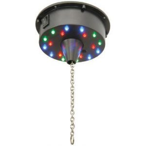 mirror ball rotating motor with LED lights