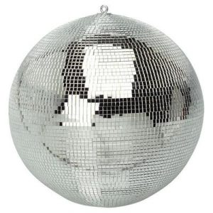 Medium glass mirror ball
