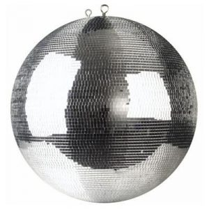 Professional mirror ball with 5mm facets