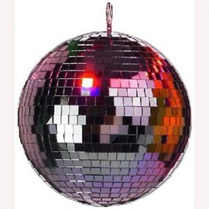 Coloured decoration mirror ball
