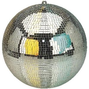 30cm mirror ball to make your disco or party special