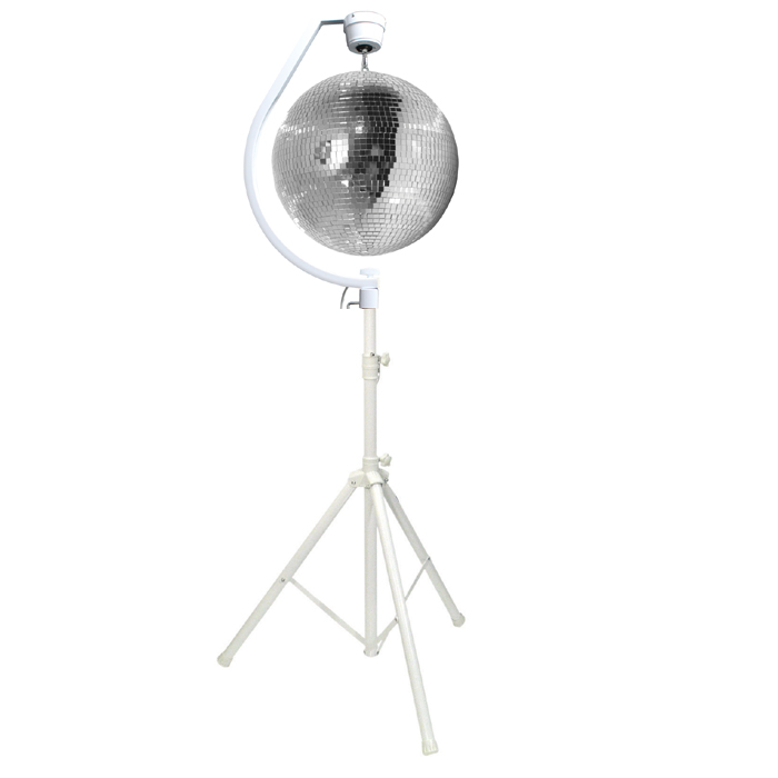 50cm Mirror Ball Hanging Bracket Stand And Rotating